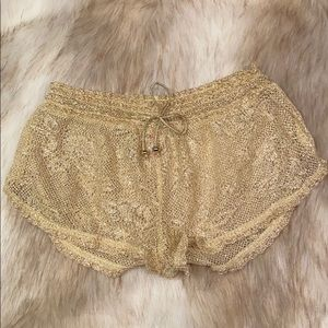 Victoria's Secret Swim Cover Up Shorts, Small